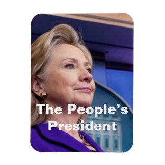 Der Präsident der Leute: Hillarymagnet 2016 Magnet