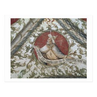 Der Prophet Baruch, vom Loggia d'Annunciazion Postkarte