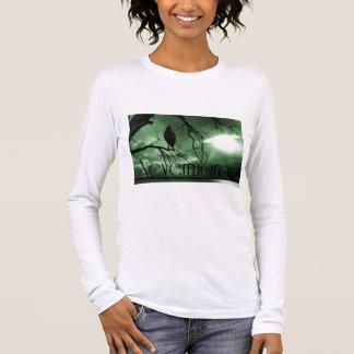 Der Rabe - nie wieder Sunbeams-Baum - Grün Langarm T-Shirt