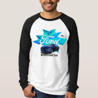 Der Raglan-T - Shirt der Mustangcustomizer-Männer