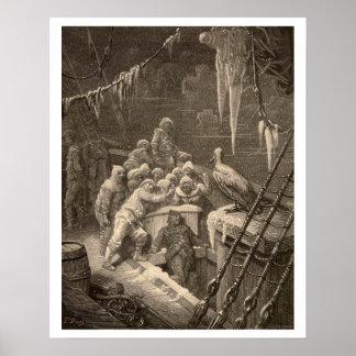 "Der Raureif des alten Seemannplakats 16"" x20 "" Poster"