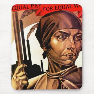 Der Rechtarbeitskraftgleichheit der Frauen Mauspad
