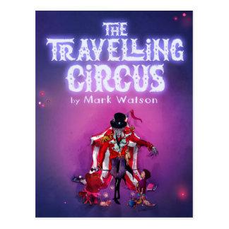 Der reisende Zirkus Postkarte