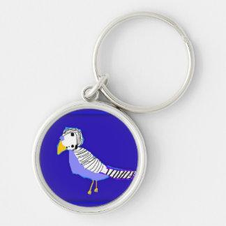 Der reizende Lovebird Schlüsselanhänger