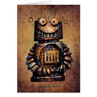 Der Roboter-alles Gute zum Geburtstag des Karte