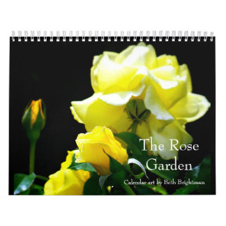 Der Rosen-Garten-Kalender Abreißkalender