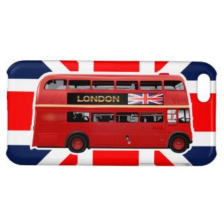 Der rote London-Doppeldecker-Bus Hüllen Für iPhone 5C