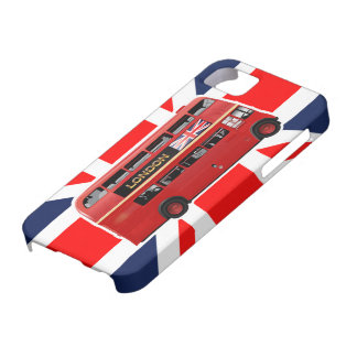 Der rote London-Doppeldecker-Bus iPhone 5 Cover