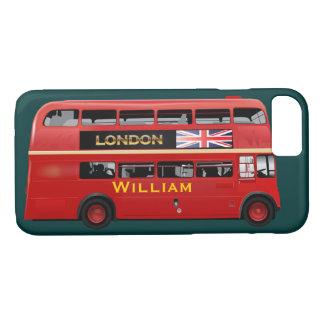 Der rote London-Doppeldecker-Bus iPhone 8/7 Hülle