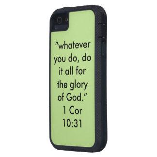 """""""Der Ruhm des Gottes"""" Iphone 5/5S und Se rufen iPhone 5 Etuis"""