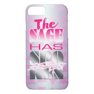 Der Salbei hat 80er Art-Neon-Rosa gesprochen - iPhone 8/7 Hülle