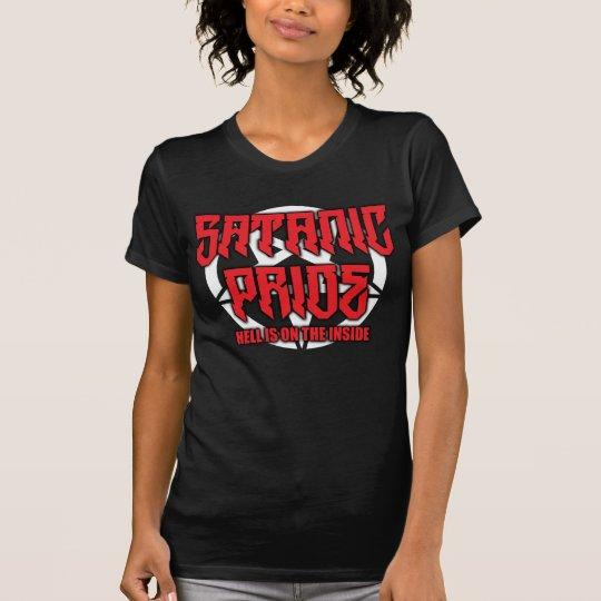 Der satanischen Stolz-Frauen verurteilen T-Shirt