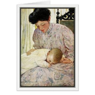 Der Säugling durch Jessie Willcox Smith Karte