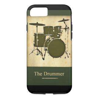 der Schlagzeuger der Band iPhone 8/7 Hülle
