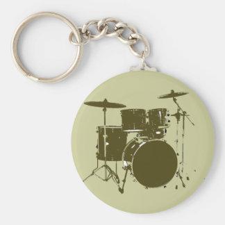 der Schlagzeuger der Band Schlüsselanhänger
