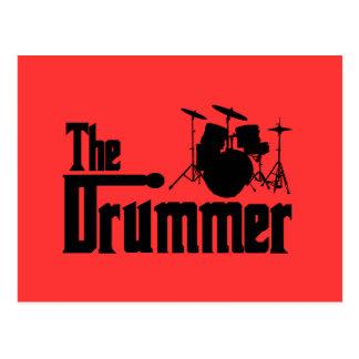 Der Schlagzeuger Postkarte