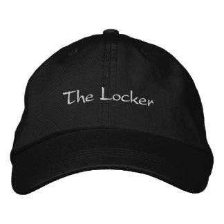Der Schließfach-Hut Bestickte Kappe