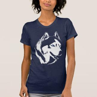 Der Schlitten-Hundeheisere Shirt-Geschenke der Shirts
