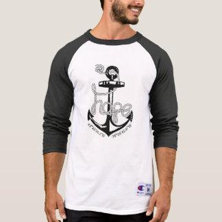 Der Schnitt-Baseball T der Männer T-Shirt