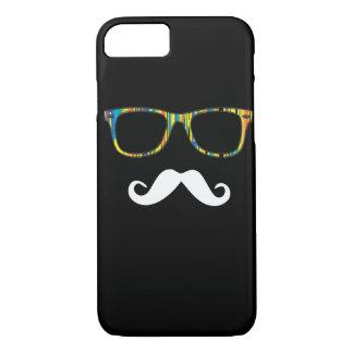 Der Schnurrbart-Hipster iPhone 8/7 Hülle
