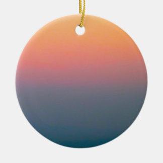 Der schöne Himmel Rundes Keramik Ornament