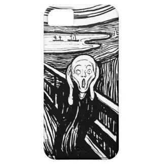 Der Schrei durch Edvard Munch iPhone 5 Schutzhüllen