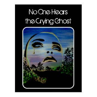 """""""der schreiende Geist-"""" Postkarte"""