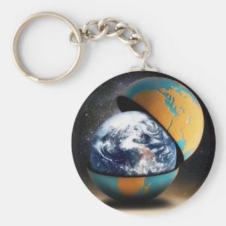 Der Schutzüberzug der Erde Schlüsselanhänger