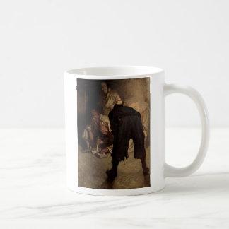 Der schwarze Fleck - N.C. Wyeth Kaffeetasse