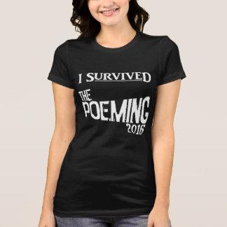 Der schwarze T - Shirt der Frauen