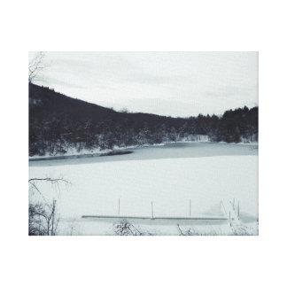 Der See Leinwanddruck