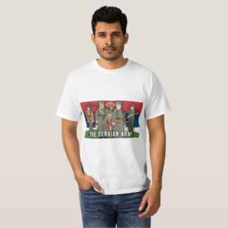 Der serbische Armee-Partei-Erste Weltkrieg T-Shirt
