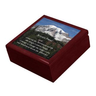 Der Serenity-Gebets-Mount- RainierFoto Erinnerungskiste