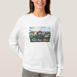 Der Setzen-n-Bucht Eriesee-Insel, die #2 malt T-Shirt
