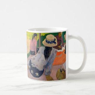 Der Siesta durch Frauen Tahiti Paul Gauguins Kaffeetasse
