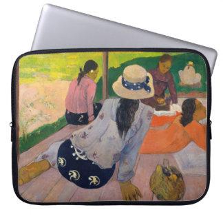 Der Siesta durch Frauen Tahiti Paul Gauguins Laptopschutzhülle