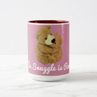 Der Snuggle ist wirkliche Tasse