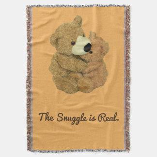Der Snuggle ist wirkliche Wurfs-Decke Decke