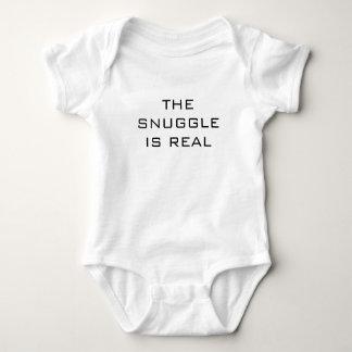 Der SNUGGLE IST WIRKLICHER Baby-Jersey-Bodysuit Baby Strampler