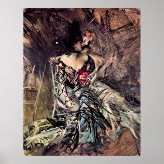 Der Spanier von Rouge - Giovanni Boldini Posterdruck