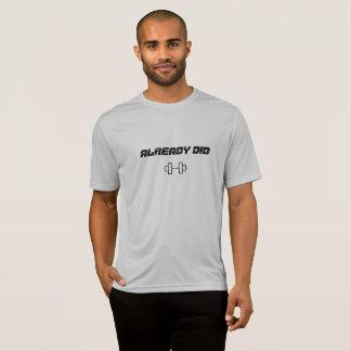 Der Sport-Konkurrenten-T - Shirt der Männer
