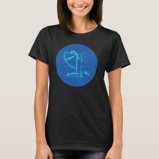 Der Steampunk der Frauen Küster-Astronomie-T-Shirt T-Shirt