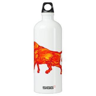 Der Stierlauf Wasserflasche