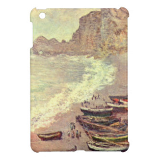Der Strand bei Etretat - Claude Monet iPad Mini Hülle