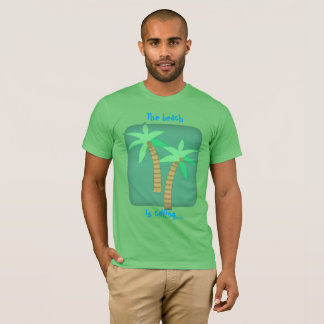 Der Strand nennt T-Shirt