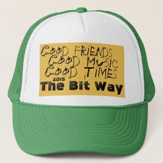 Der Stückchen-Weisen-Fernlastfahrer-Hut 2015 Truckerkappe