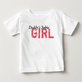 Der Subie des Vatis Mädchen Baby T-shirt