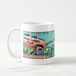 Der Sumpf-Frosch-Streich Kaffeetasse