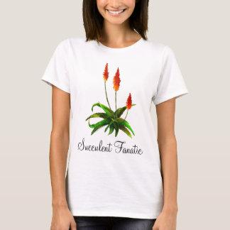 Der T - Shirt der Aloe Watercolor-Damen