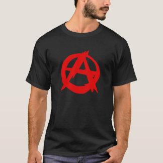 Der T - Shirt der Anarchistenlogo-Männer
